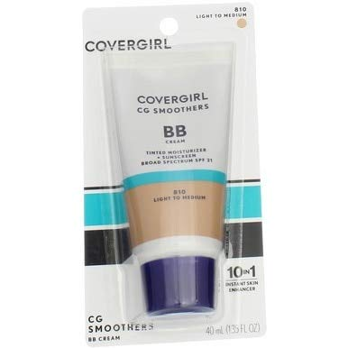 CoverGirl Smoothers SPF 21 Tinted Coverage, Light to Medium [810],...