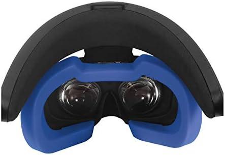 SHEAWA Oculus Rift S アイマスク フェイスマスク シリコン 汚れ防止 防汗カバー フェイスカバー 専用 アクセサリー (ブルー)