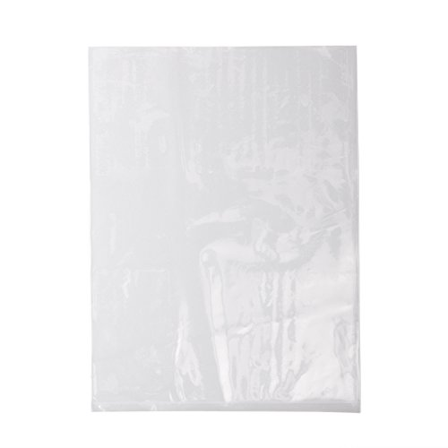 Party Favors Goody Bags 8 x 15 Inches, Pack of 100 1.5 Mil Perfect for Products Owlpack Clear Poly Bags with Open End Merchandise