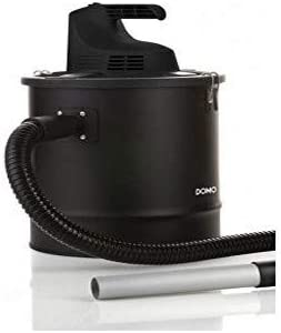 Domo DO232AZ limpiador de ceniza - limpiadores de ceniza (Ash vacuum cleaner, Secar, Negro)
