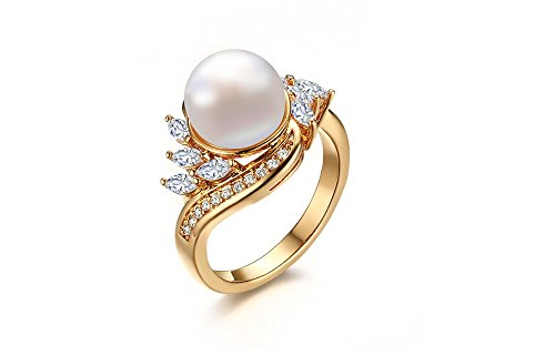 Anillos De Oro 18K Gold Plated Finger Ring For Women Aaa Colorful Cubic Zircon  6