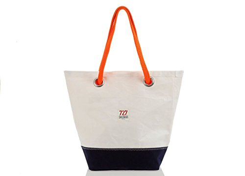 727 sailbags Sam di Dacron Colored Blue Navy, No 6 Blue – samdmarble6 Borsa di tela pezzo unico