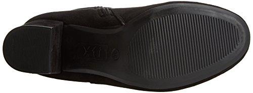 047249 Xti Noir Black Femme black Bottines wAwFxqR1z