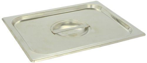 Benchmark 56746 Half-Size Flat Lid, 12-1/2'' Length x 10-1/4'' Width x 1'' Height by Benchmark