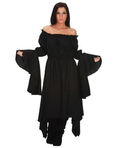 Black (Medieval Belly Dance Costume)