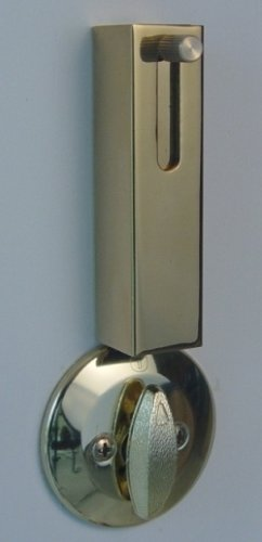 Lock Jaw Security 1001 Door Security Device, Polished Brass by Lock Jaw Security (Image #2)