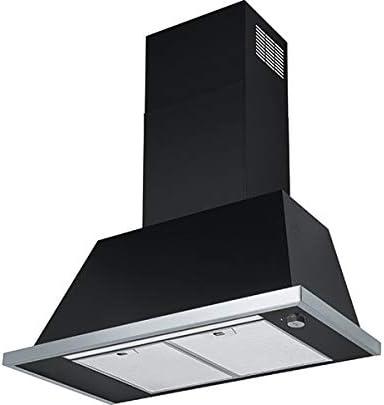 Franke – Campana de pared Trendline 808 BK acabado negro de 80 cm: Amazon.es: Grandes electrodomésticos