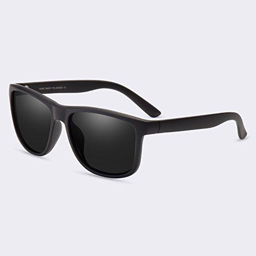 TIANLIANG04 Lunettes de soleil Lunettes de soleil polarisées Hommes Guide Vintage Rétro lunettes Lunettes Miroir Homme
