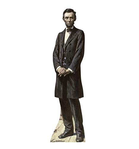 Advanced Graphics President Abraham Lincoln Life Size Cardboard Cutout Standup - The Gettysburg Address - Professional Lincoln Life