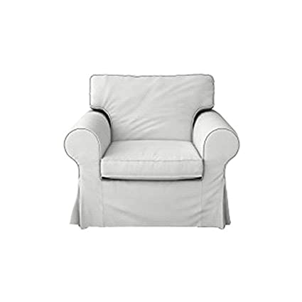 Enjoyable Mastersofcovers Ektorp Ikea Armchair 5 Color Cotton Cover For The Ikea Ektorp Chair Slipcover Replacement Cotton White Pabps2019 Chair Design Images Pabps2019Com