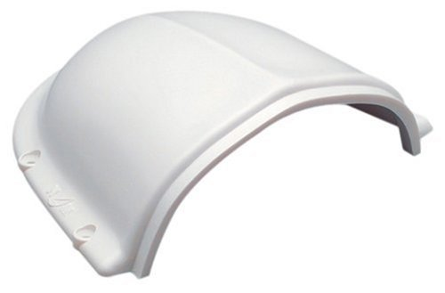 "Nicro N10873 2.5"" clam shell vent , White , Small"