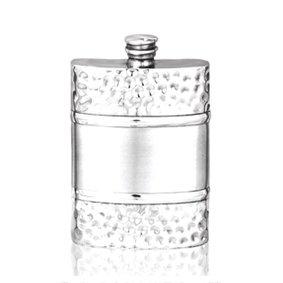 6 Oz Pewter Hip Flask - 9
