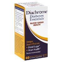 Nutrition 21 Diabetes Essentials Diachrome Blood Sugar Health Capsules - 60 ea