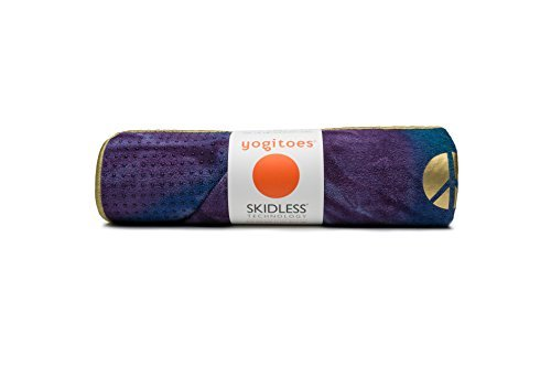 Yogitoes rSkidless BIG Yoga Mat Towel - Peacock by Manduka by Manduka