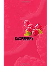 Raspberry: Raspberry Gift Lined Notebook / Journal / Diary Gift, 110 Blank Pages, 6x9 inches, Matte Finish Cover