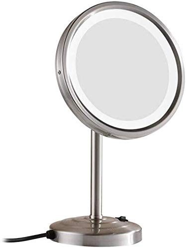 LED Makeup Mirror Wall Mount Rotary Retractable Mirror Bathroom Mirror Shower 8.5 -