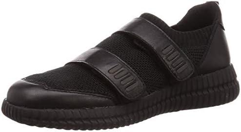Geox D Novae Sneaker Damen Schwarz Sneaker Low Shoes