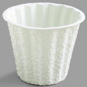 5J Mache Container-white