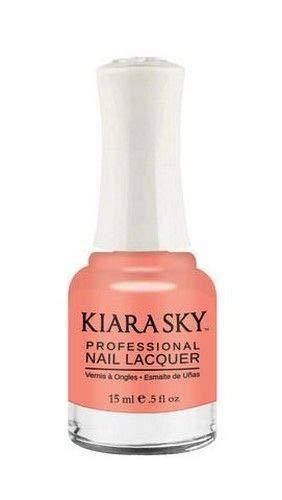 Kiara Sky Nail Lacquer, Skin Tone, 15 Gram