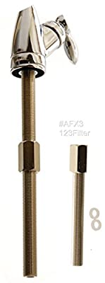 iSpring AFX3 Water Filter 3-Inch Faucet Stem Extender for 1/4-Inch Tubing