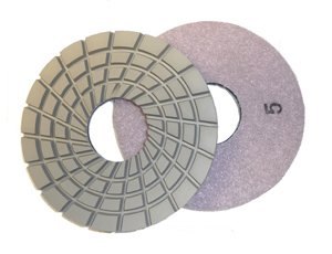 Toolocity CPP05SET 5-Inch Con-Shine Dry/Wet Diamond Polishing Pad for Concrete Set of 5 by Toolocity (Image #5)