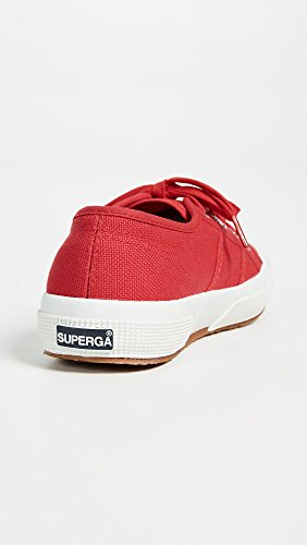 Women's Maroon Superga Red Cotu Sneaker 2750 0UnpqAY