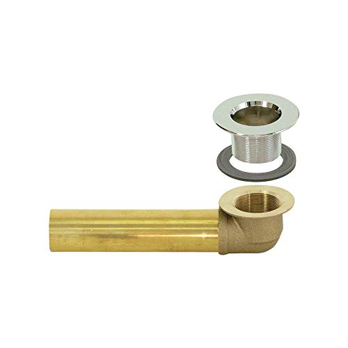 Eastman 35224 Brass Bath Waste and Overflow Shoe