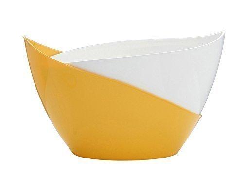 Blumenkübel Selbstbewässerungstopf Modell diverse Farben Höhe 13,5 cm (Gelb)