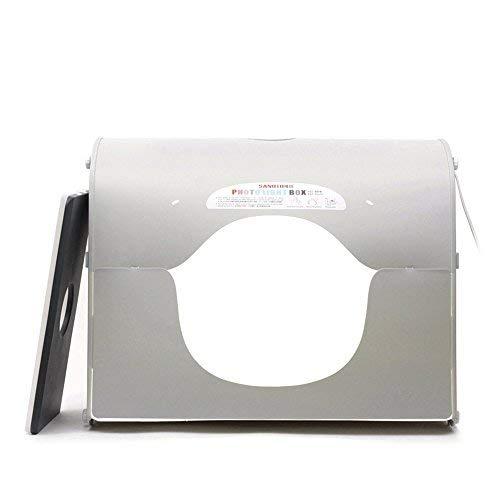 Andoer SANOTO K60 24''×18'' LED Photo Studio Shot Box Built-in Lighting Studio Mini Stepless Dimming Light Box Professional Portable