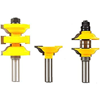 Cmt 800 527 11 3 Piece Entry Amp Interior Door Router Bit