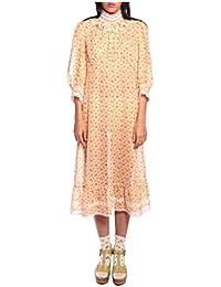 Women'S Buttercup Rosebuds Metallic Clip Jacquard Dress