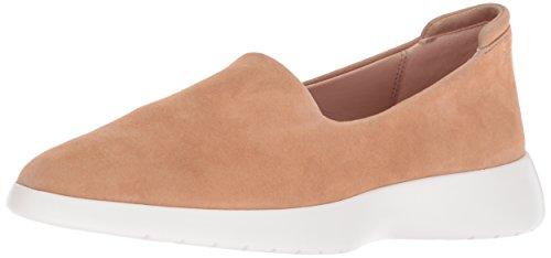 Taryn Rose Women's Darla Stretch Suede Sneaker, Soft Beige, 8.5 M M (Darla Rose)
