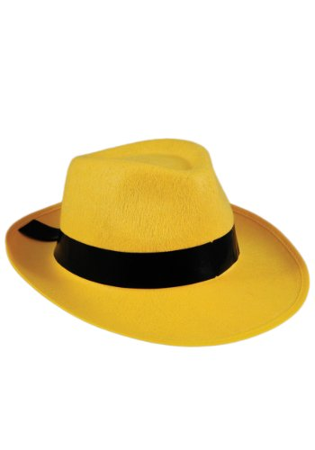Yellow Fedora Hat - ST