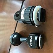 """CamDive 1/"""" Mounting Ball for Cold Shoe connector for Video//Flash//Strobe lights"""