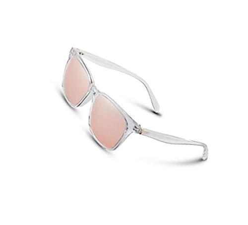 soleil White UV400 hommes l'extérieur lunettes lunettes mode carré soleil unisexe des Pour de protection de voyager pour cadre polarisées pour Rose xg5wqZRP