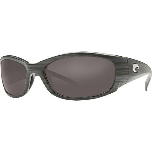 Costa Hammerhead Polarized 580G Sunglasses Silver Teak/Gray, One - Sunglasses Hammerhead