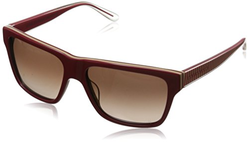 Marc by Marc Jacobs Women's MMJ380S Wayfarer Sunglasses, Red Mud, 56 - Marc Sunglasses Jacobs Red