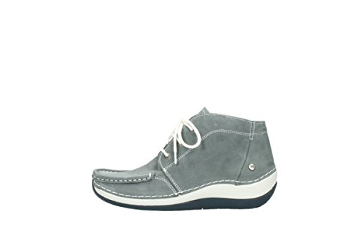10200 Nubuck Grey Up Boots Comfort Lace Wolky Olympia zwX0nx