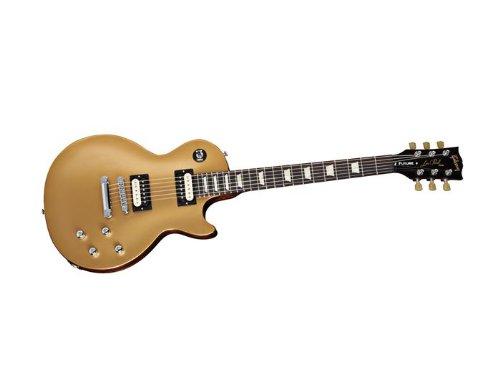 Gibson USA LPTRFG5RC1LP Future Tribute Gold Top Dark Back Vintage Gloss Min-ETune