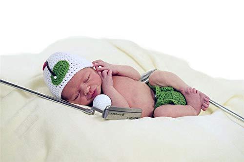 Infant Newborn Baby Boy Girl Crochet Costume