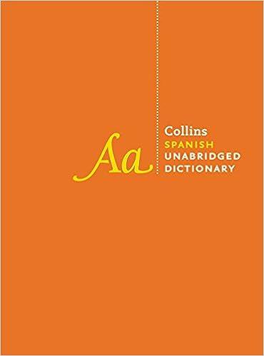 Collins Spanish Unabridged Dictionary: Amazon.es: Collins: Libros en idiomas extranjeros