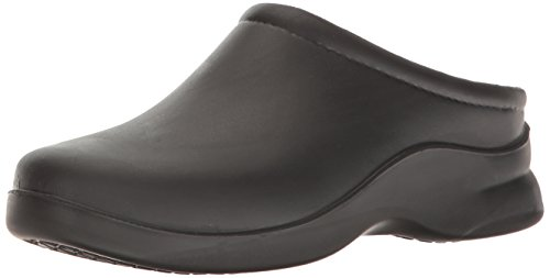 Klogs USA Women's Dusty Open Back Clog,Dusty Black,10 M US by Klogs