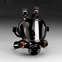 3M 665514131, 3M 7800-M Full Facepiece Respirator 7800S Series, Reusable, Medium