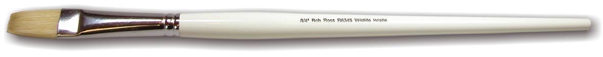Bob Ross Cepillo de cerdas 3//4 pulgadas