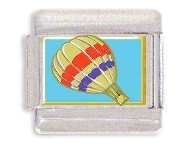 Hot Air Balloon Italian Charm Bracelet Link