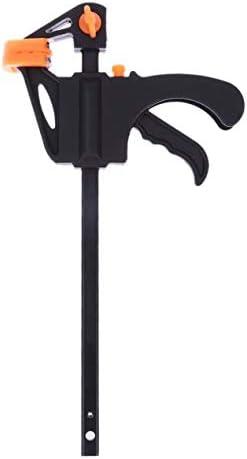 4インチ木工固定具Fクランプ-ブラック