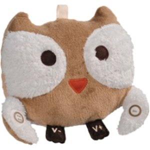 "Elli And Nooli Recordablepal . Al The Owl . Personalized Lullaby Plush . Award Winning . Record Mommy's Voice . Easily Tie To Car Seat, Stroller, And Crib . 20 Second Record Time ""Product Type: Audio Electronics/Voice Recorders"""