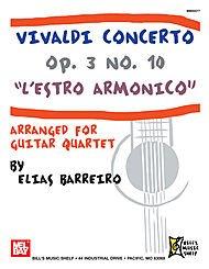 Vivaldi Concerto Op. 3 No. 10 - L'Estro Armonico