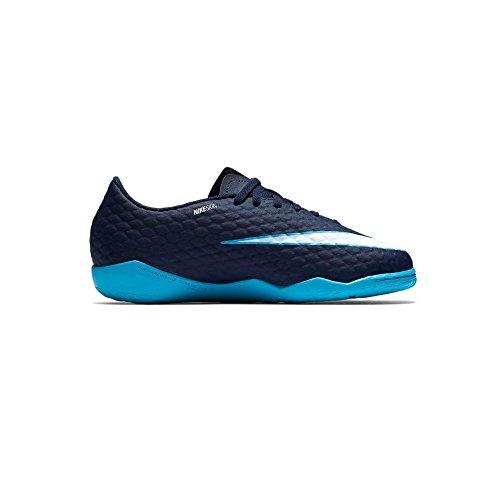 Nike JR Hypervenomx Phelon III IC, Chaussures de Football Mixte Enfant, Rot (Universität Rot/Schwarz-Helles Karmesinrot 616), 36,5 EU