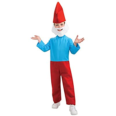 Rubie's Costume Smurfs: The Lost Village Child's Papa Smurf Costume, Multicolor, Small: Clothing